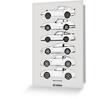 Nissan Fairlady Z History Greeting Card