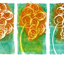 Three Angry Bouquets by Nadia Korths
