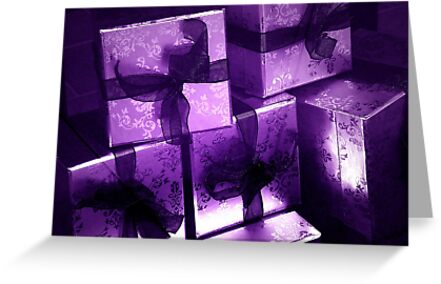All Wrapped In Purple by CarolM