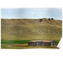 Wyoming Sod House Poster