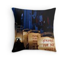 Cathedral Church of St. John the Divine, New York City Throw Pillow