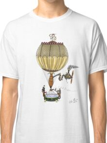 STEAMPUNK HOT AIR BALLOON Classic T-Shirt