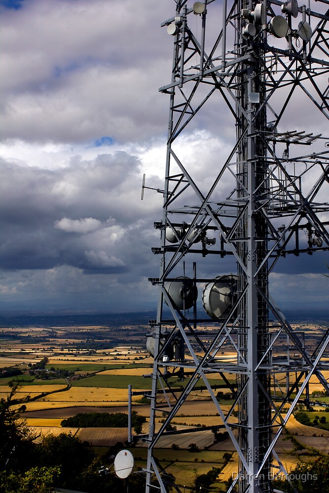 The Wrekin Communications Tower by Darren Burroughs