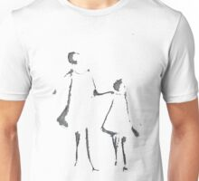 """I can remember- two girls walking"" Unisex T-Shirt"
