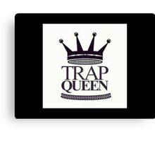 Trap Queen Fetty Wap Canvas Print