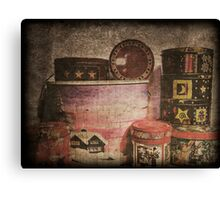 Boxes full of Biscuits Canvas Print