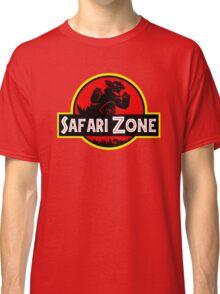 Safari Zone X Jurassic Park V2 Classic T-Shirt