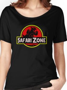 Safari Zone X Jurassic Park V2 Women's Relaxed Fit T-Shirt