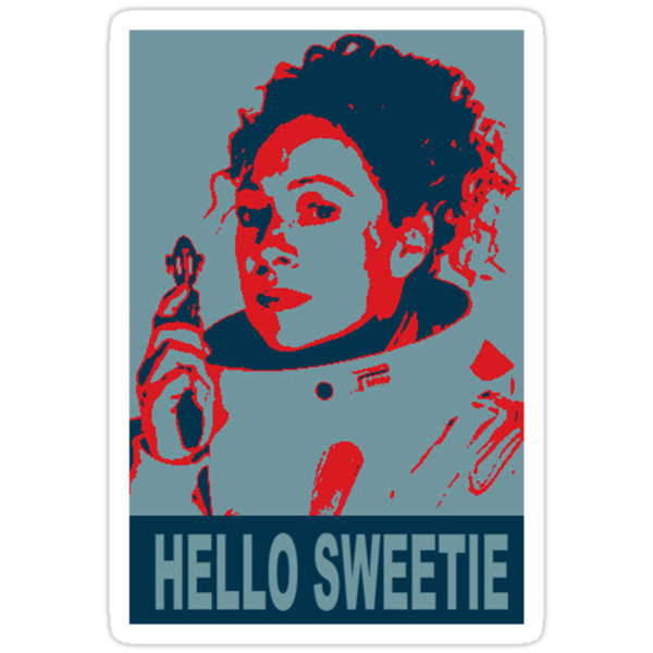 River Song Hello Sweetie (T-Shirt ) by PopCultFanatics