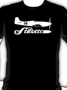 Stiletto P-51 Mustang Race 84 Reno Air Racer T-Shirt