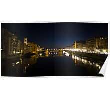 River Arno, Florence Poster
