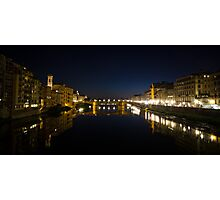 River Arno, Florence Photographic Print