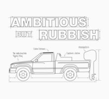 Top Gear's Ambitious but Rubbish Toybota blueprints  Kids Tee