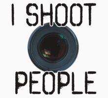 Portrait Photographer's Shirt by April Koehler