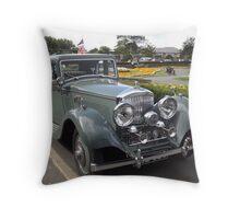 1930s Bently Throw Pillow