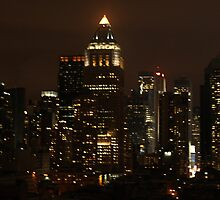 NYC Skyline - Rooftop Lounge by bmrw