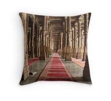 Jama Masjid Throw Pillow