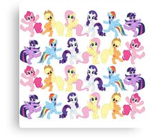 My Grateful Pony Canvas Print