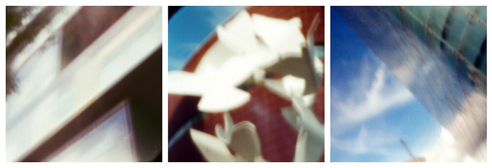 Manchester through a pinhole by rosiephoto