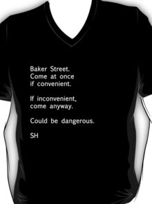 Sherlock Messages - 7 T-Shirt