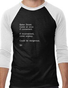 Sherlock Messages - 7 Men's Baseball ¾ T-Shirt