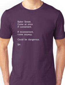 Sherlock Messages - 7 Unisex T-Shirt