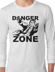 Archer Danger Zone FX TV Funny Cartoon Cotton Blend Adult T Shirt Long Sleeve T-Shirt