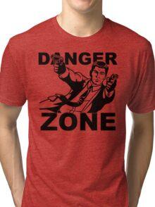 Archer Danger Zone FX TV Funny Cartoon Cotton Blend Adult T Shirt Tri-blend T-Shirt