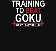 Train Insaiyan Gym Training to Beat Goku or Krillin DBZ Dragon Ball Z T-Shirt