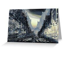 Parisian Mosaic - Piece 24 - Rue de Rivoli Greeting Card