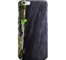 water flows by. iPhone Case/Skin
