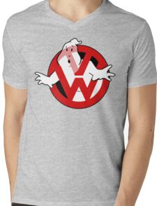 Golfbusters Mens V-Neck T-Shirt
