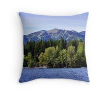 Big Mountain (Whitefish, Montana, USA) Throw Pillow