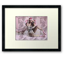 Capturette cri-cri Framed Print