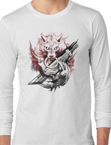 Final Fantasy Amano Homage Long Sleeve T-Shirt