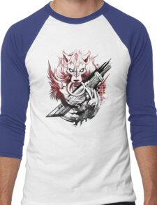 Final Fantasy Amano Homage Men's Baseball ¾ T-Shirt