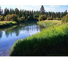 Whitefish River (Whitefish, Montana, USA) Photographic Print