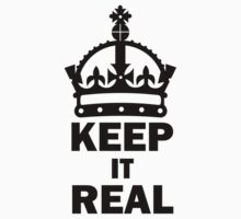 keep it real One Piece - Short Sleeve