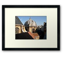 The Luman- Paris, France Framed Print