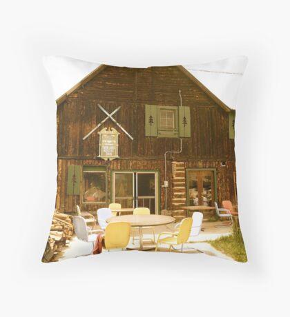 Mountain Cottage - Colorado Throw Pillow