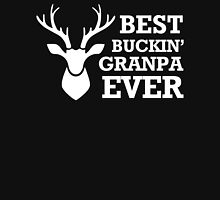 Best Buckin' Grandpa Ever - Funny Hunting Gift For Grandad Long Sleeve T-Shirt Hoodie
