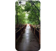 Light at the end of the bridge  iPhone Case/Skin