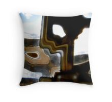 Abstract 1946 Throw Pillow