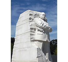 A STONE OF HOPE, Martin Luther King, Jr. Memorial Photographic Print