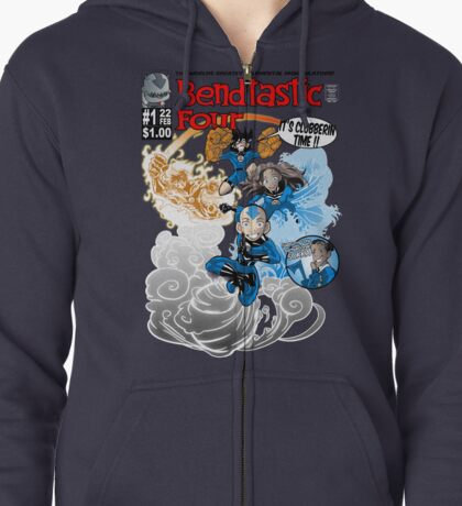 The Bendtastic Four Zipped Hoodie