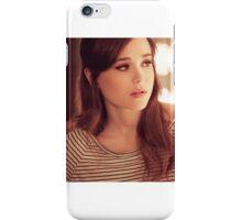 Ellen Page phone case 2 iPhone Case/Skin