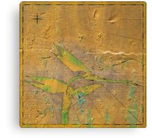 Mythic Map 2 Canvas Print