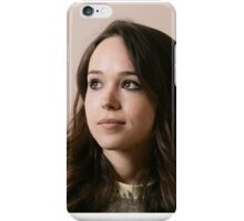 Ellen Page phone case 4 iPhone Case/Skin