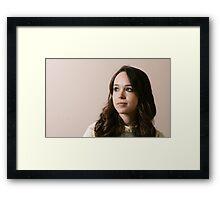 Ellen Page phone case 4 Framed Print