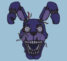 Five Nights at Freddy's - FNAF 4 - Nightmare Bonnie One Piece - Short Sleeve
